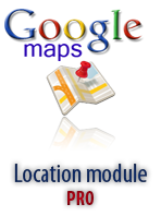 Location Map Module for Joomla
