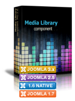 Media library PRO SHOP 3.0 component
