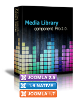 Module Media library New Brand Media PRO