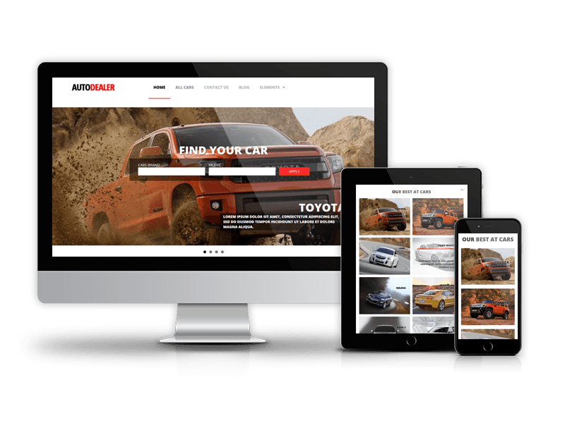 Autodealer - Car Dealer Drupal Theme