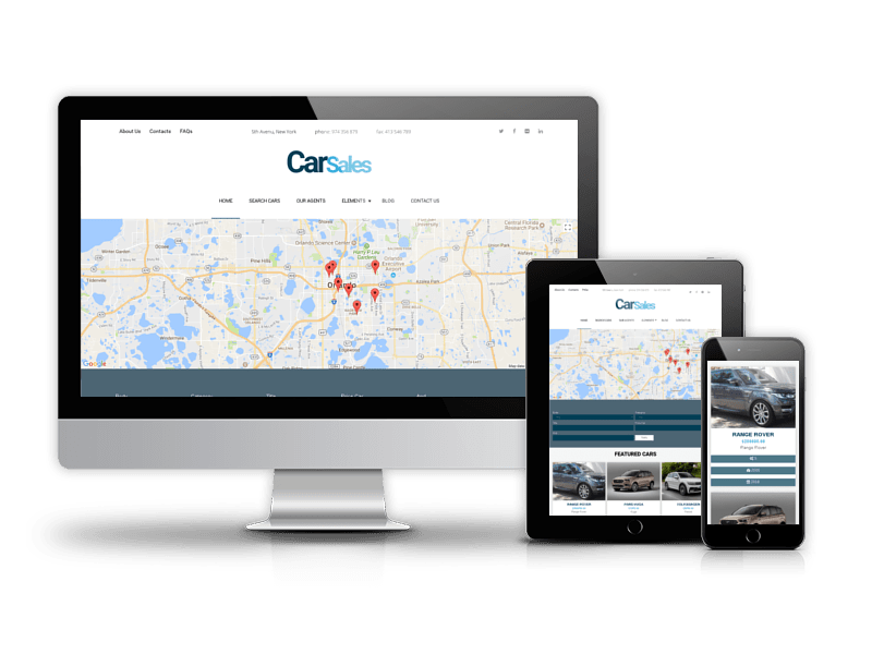 Car Sales - Drupal Car Dealer theme
