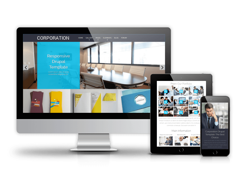 Drupal Business Theme Corporation