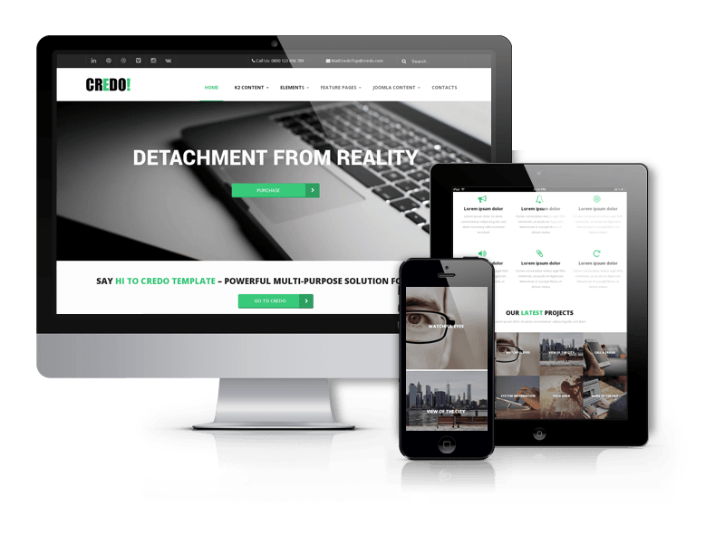 Credo - Drupal Multipurpose Business Theme