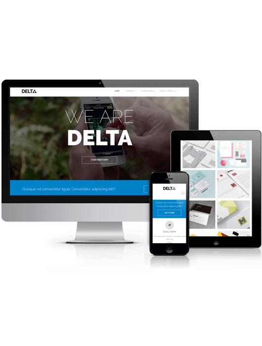 Delta, free Drupal business theme 2014