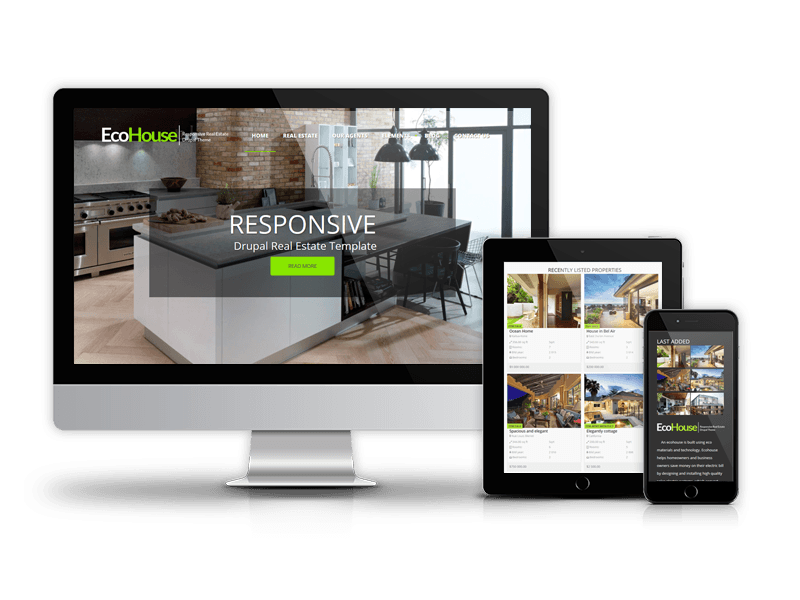 EcoHouse - Responsive Real Estate Drupal Theme