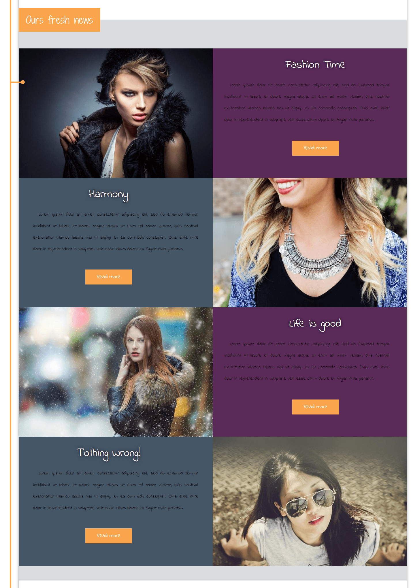 Fashion Cast - eCommerce Drupal Theme