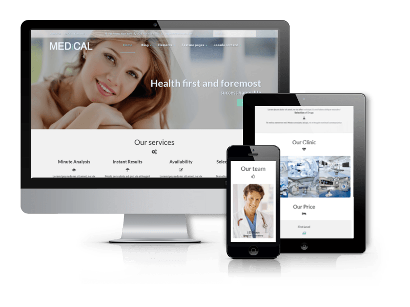 Medical, Healthcare Drupal theme