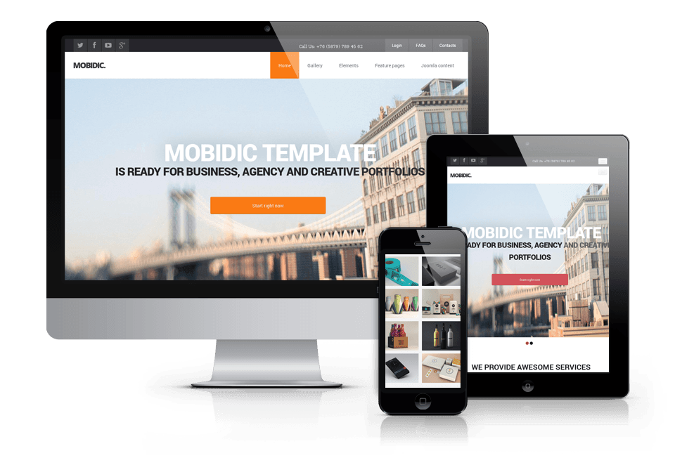 Drupal Multipurpose Theme
