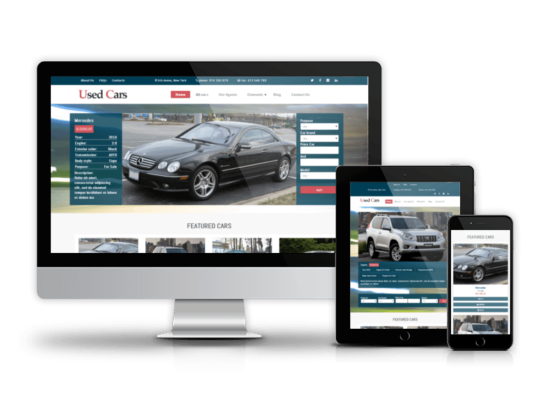 Drupal Car Theme Used Cars