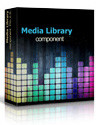 Media library Joomla extension