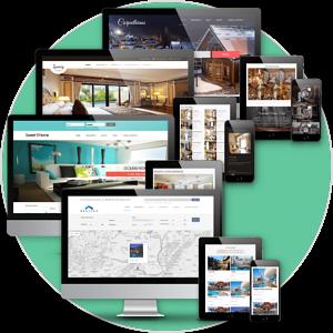 Professional property listing website design