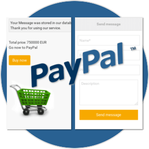PayPal and 2Checkout Integrated in real estate rental software for create real estate website