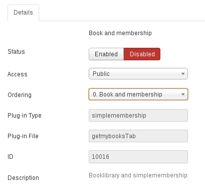 Get my books plugin for Simple Membership