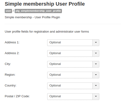 Joomla user profile, add field to joomla user