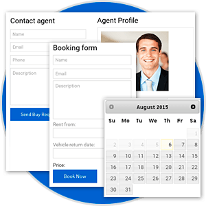 Advanced features for Car Rental and Car Selling in Vehicle Manager - Joomla Car rental dealer software for rent and sell cars