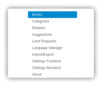 Simple Books Management in Book Library