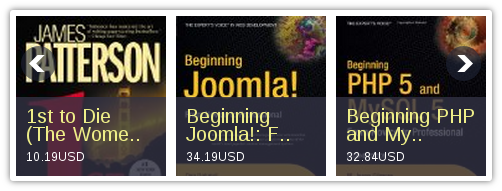 Module Slideshow for Book Library - Joomla book library component for library management
