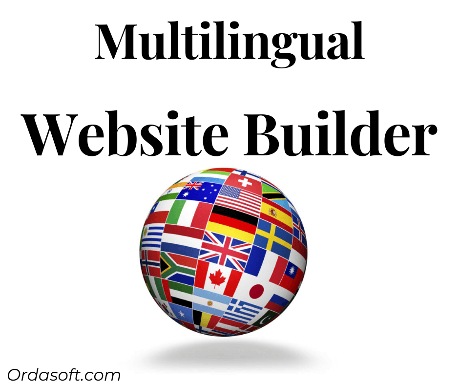 multilingual website builder