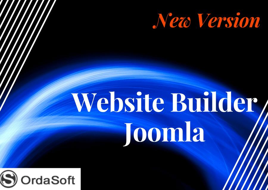 new fre version joomla website builder
