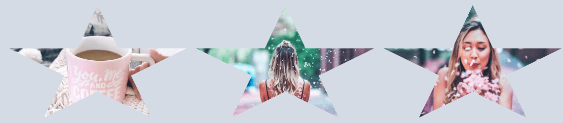 photo joomla gallery - image mask, effect star
