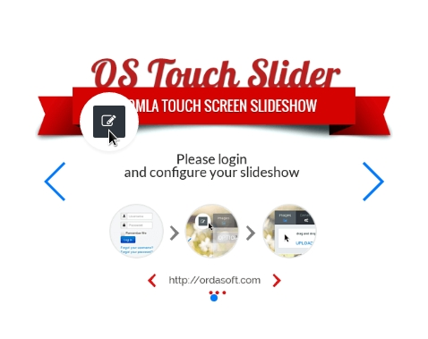 for create slideshow click on the sign of joomla slider