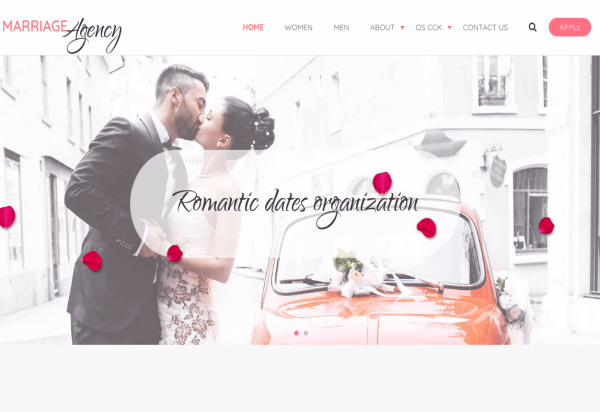 Joomla Slider extension in Joomla Wedding Template