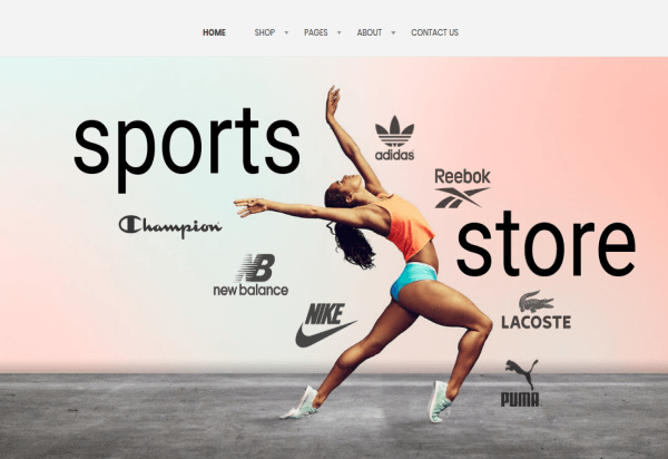 Joomla sport template with Joomla Slideshow module