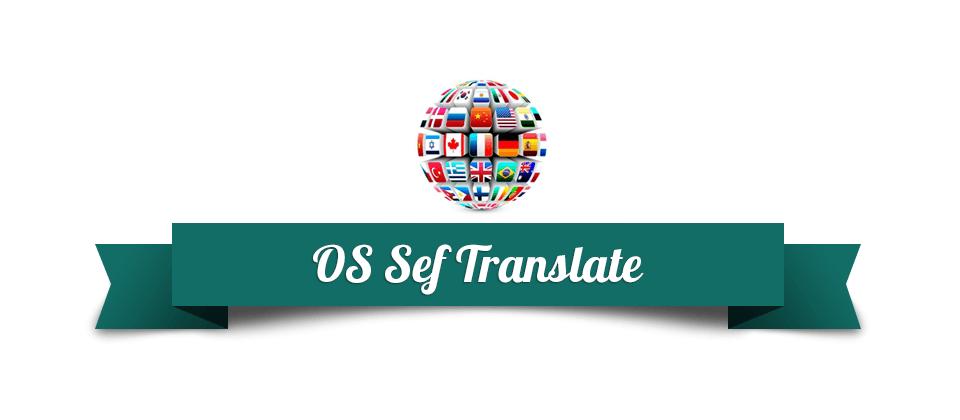 SEF Translate - Joomla software for automatically website translation