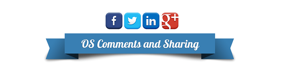 Social sharing and comments
