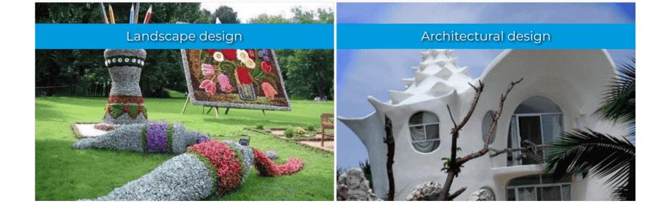 arhitectural design portfolio website template