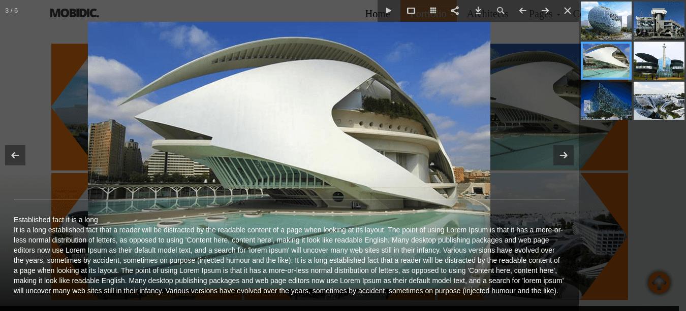 architecture portfolio template gallery