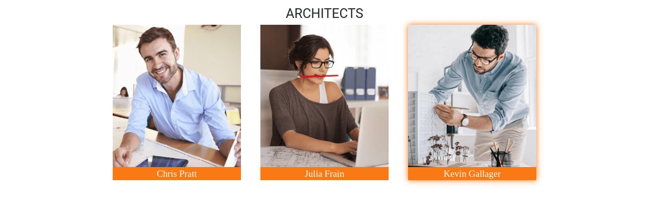architecture portfolio template team
