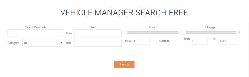 search car module, free automotive website template
