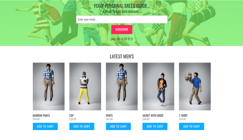 Fashion cast joomla virtuemart template personales sales guide