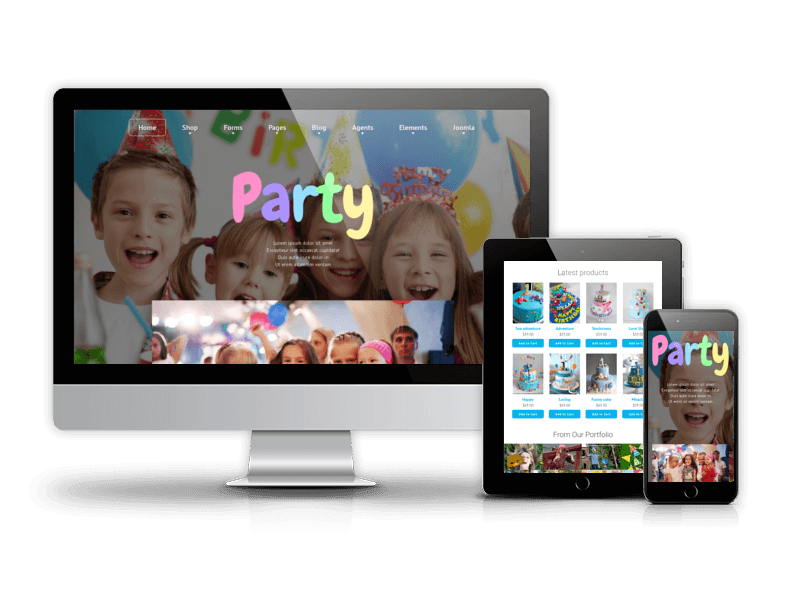 Joomla Kids template