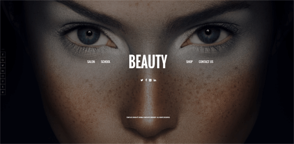 Beauty, Virtuemart Joomla template, homepage
