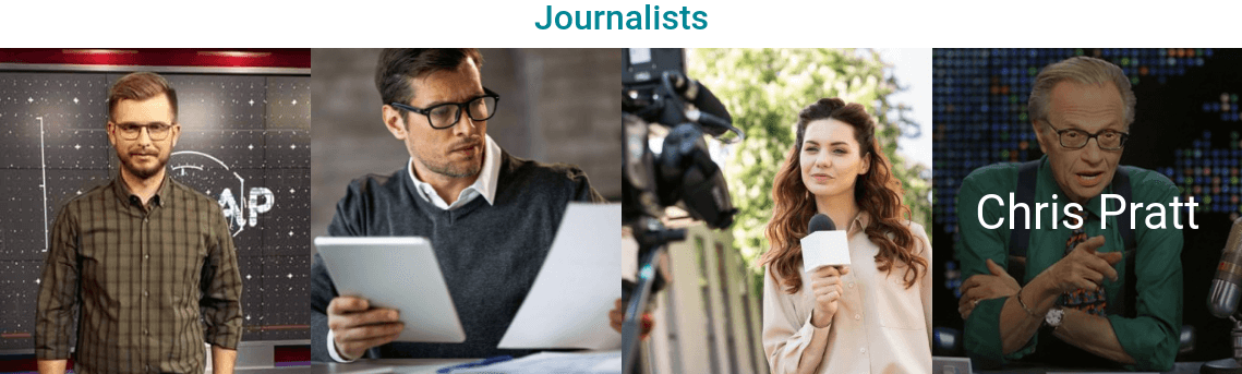 Blog Website Template journalists