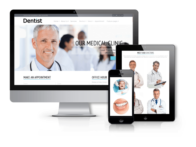 dentist dentistry joomla template joomla business templates
