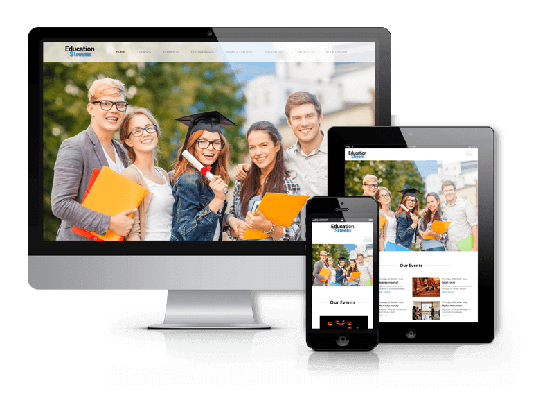 Joomla Education Template EducationStreem