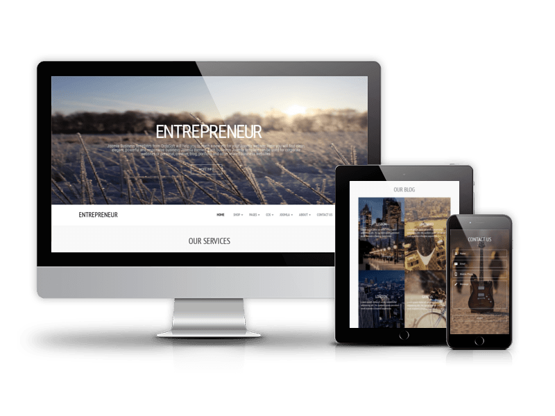 Joomla Virtuemart Template Autumn