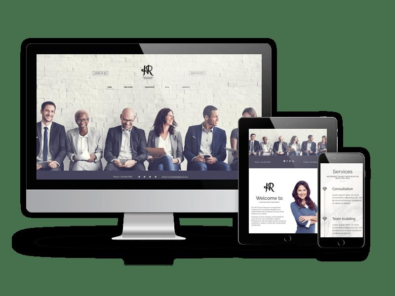 human resource management joomla recruitment template joomla