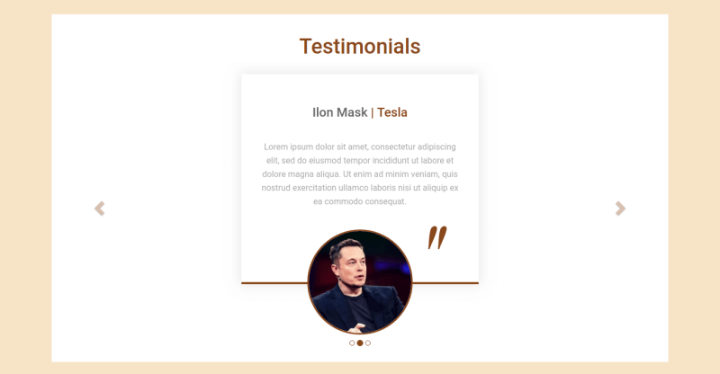 Justice. Create law website. Section our testimonials