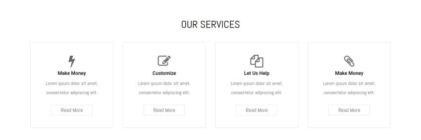 services portfolio joomla template