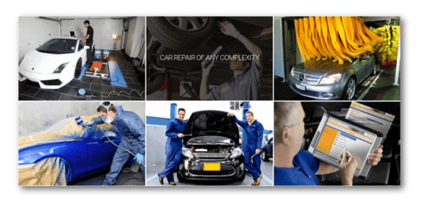 Service Station Free Car Repair Joomla Template