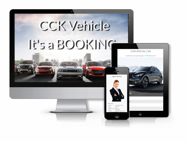 OS CCK is Vehicle Booking