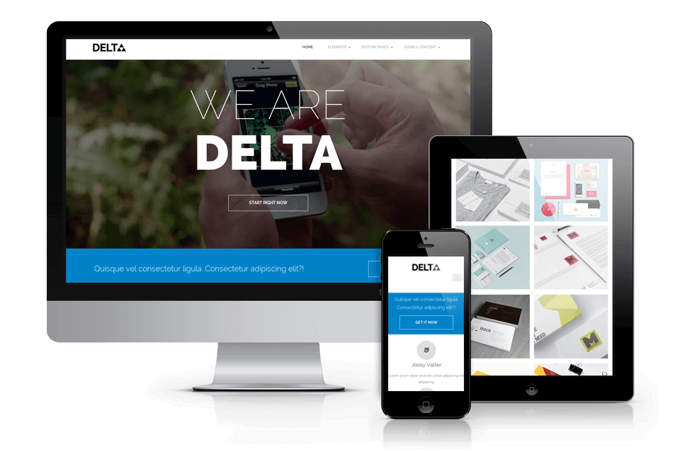 Delta - Free Wordpress blog theme