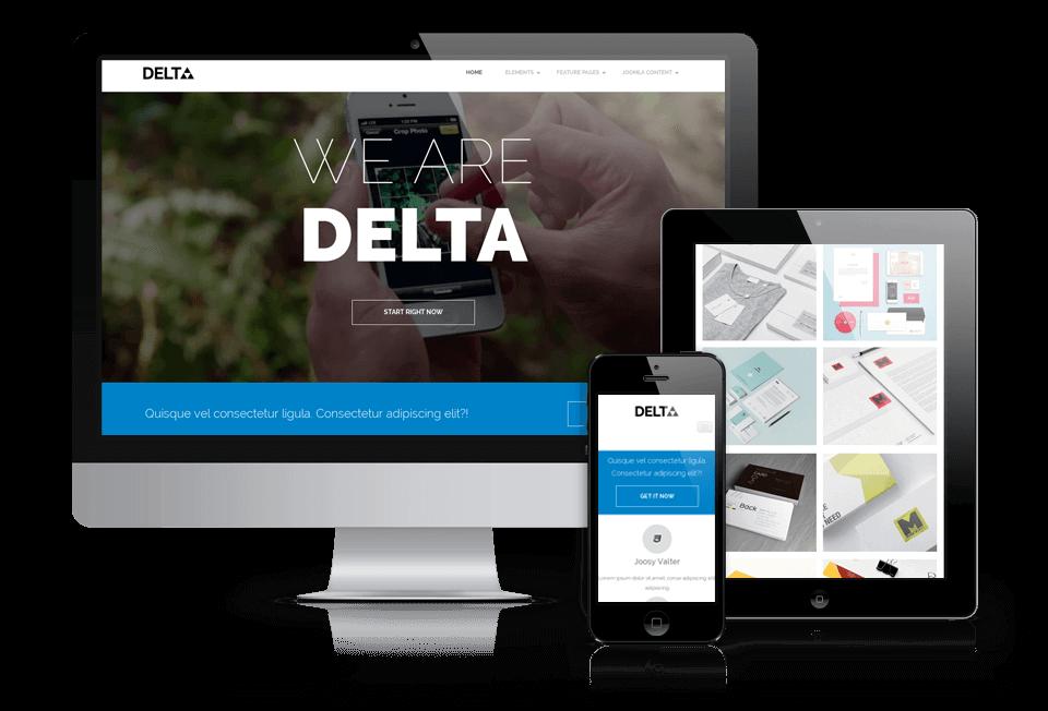 Free WordPress blog theme Delta