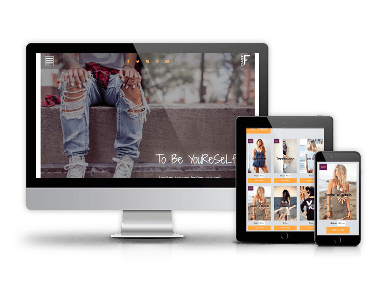 WooCommerce WordPress theme, Fashion Cast
