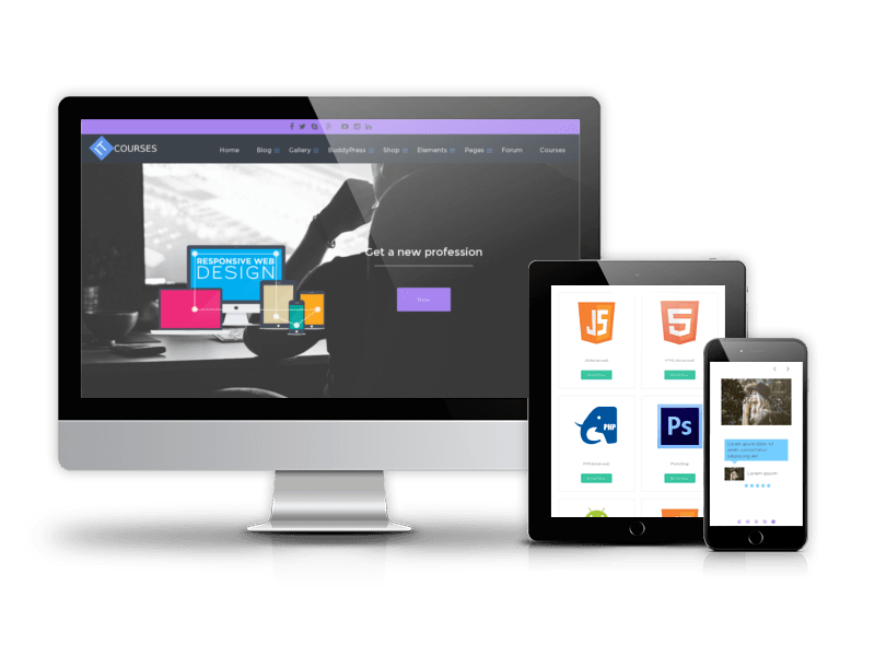 It Courses - WordPress Education theme