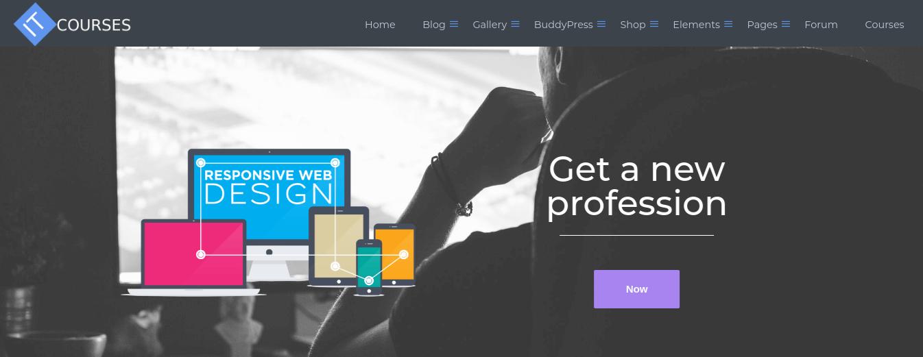wordpress education theme slider